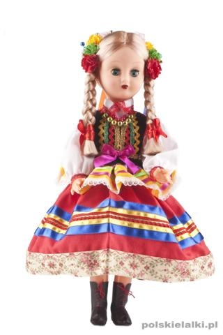 Doll in Lublinian traditional costume.